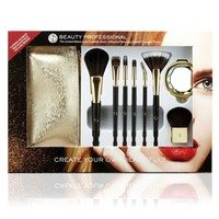 Beauty Professional Luxe Cosmetic Brush Collection Make-up Brushes free shipping
