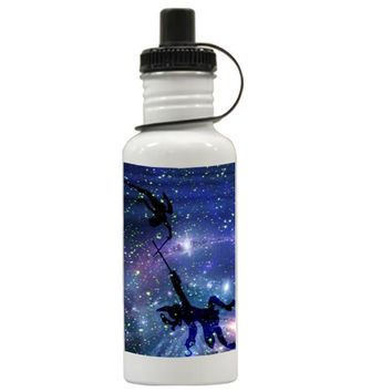 Gift Water Bottles | Peter Pan War With Captain Hook Aluminum Water Bottles