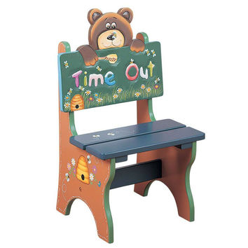 Teamson Kids- Safari Bear Time Out Chair