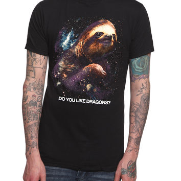Sloth Dragons T-Shirt | Hot Topic