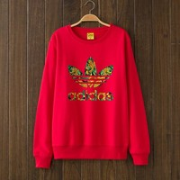 ADIDAS Woman Men Top Sweater Pullover