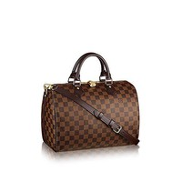 Louis Vuitton Damier Ebene Canvas Speedy Bandouliere 30 N41367