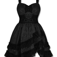 Brocade Lace Gothic/Steampung Dress