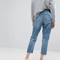 Monki Taiki High Waisted Mom Jeans at asos.com