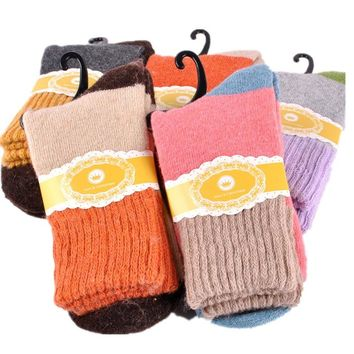 SDBING Women's 5 Pairs Soft Comfortable Socks