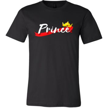 Prince and Princess Matching Couple Outfit T-shirt