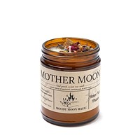 Mother Moon Scented Herbal Candle (9oz)