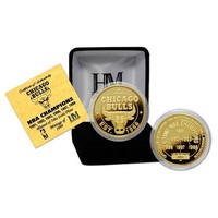 Chicago Bulls 6 Time Champions 24KT Gold Coin
