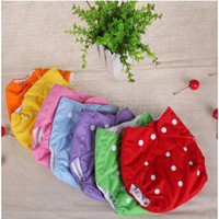 Baby diapers Washable Reusable Nappies Grid/Cotton Training Pant Cloth Diaper Baby Winter Summer Version Diapers