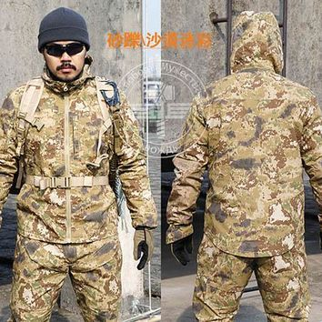 Tactical Jackets Speckle camouflage falcon Camouflage pullover hiking Rapid Assault Military Tactical Combat shirts