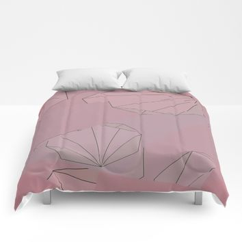 Shapes Shifted Comforters by DuckyB