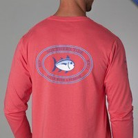 Skipjack Sleeve Long Sleeve T-Shirt | Southern Tide | Best Polo Shirts