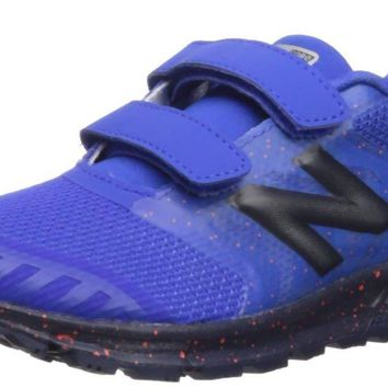 New Balance Kids' Nitrel v3 Hook and Loop Trail Running Shoe