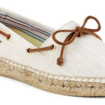 Sperry Top-Sider Katama Espadrille IvoryCanvas, Size 11M  Women's Shoes
