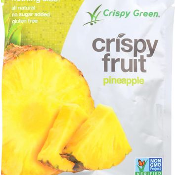 CRISPY GREEN: Crispy Fruit Freeze Dried Pineapple, 0.36 oz