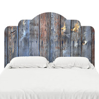 Petrified Wood Headboard Decal
