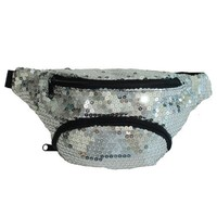 X80® Silver Sequin Fanny Pack