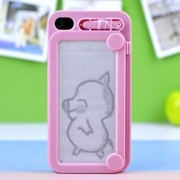 shopping2013 — C0reative Drawing protective IPhone 4/4s case cover
