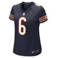 Nike NFL Chicago Bears (Jay Cutler) Women's Football Home Game Jersey