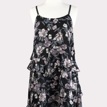 Tiffany Floral Ruffle Dress