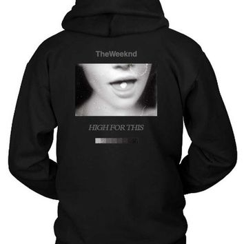 DCCKG72 The Weeknd Girl Fly Hoodie Two Sided