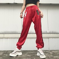 Casual Summer Devil Print Pants [763522252916]