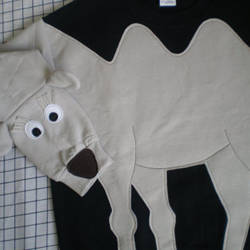 CAMEL sweatshirt, camel sweater, camel jumper Custom to your size and color