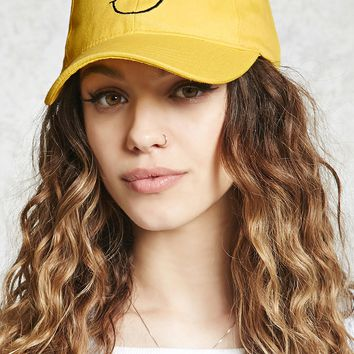 On Cloud 9 Happy Face Cap - Women - New Arrivals - 2000305516 - Forever 21 Canada English