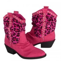 Pink Cheetah Cowboy Boots | Girls Boots Shoes | Shop Justice