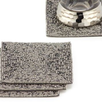 Beaded Coaster - Set of 4 | Bar Accessories | Tableware | Z Gallerie