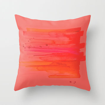 In Lust Throw Pillow by DuckyB (Brandi)