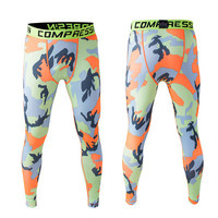 Stretch Pants Camouflage Gym Skinny Pants [6572781255]