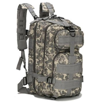 Hot Selling Men's Oxford Backpack Vintage Military Back packs Schoolbag Camouflage Men Backpack Travel Bag for Male Bagback N021