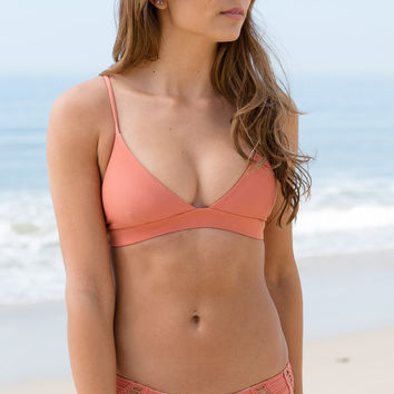 ACACIA SWIMWEAR - Awapuhi Top / Papaya