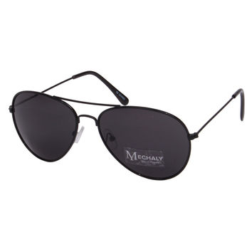 Mechaly Aviator Style Black Sunglasses