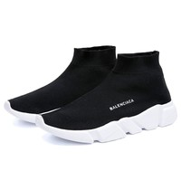 Balenciaga Casual Sock Men Women Light Street Leisure Shoes
