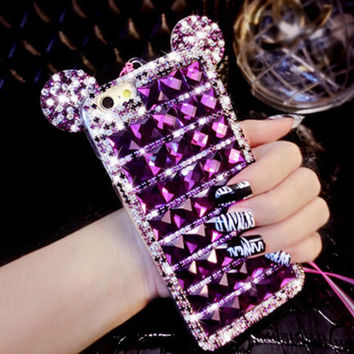 Sparkle Rhinestones Bling Bling Diamond Case for iPhone