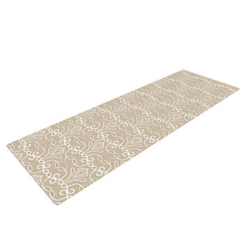"Julia Grifol ""Soft Deco"" Brown Tan Yoga Mat"