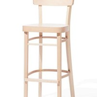 Ideal Bentwood Stool by Ton