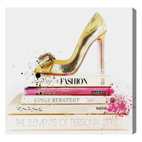 Wedbliss Shoes (Canvas) by Oliver Gal at Gilt