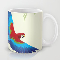 Parrot 1 Mug by Steel Graphics   Society6