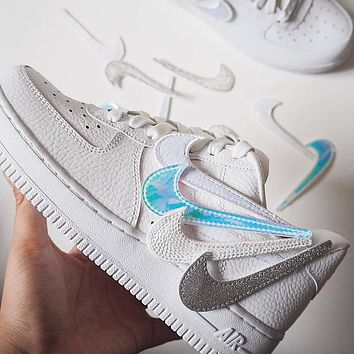 Nike Air Force 1 AF1 Coloured Velcro shoes
