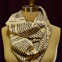Wrap Up With A Good Book Scarf: Pride and Prejudice