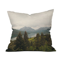 Majestic Montana Mountains Pillow Cover
