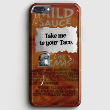 Taco Bell Take Me To Your Taco iPhone 7 Plus Case