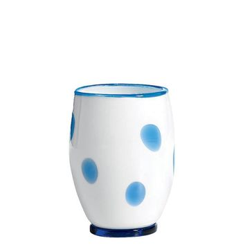 Bon Bon Tumblers S/2 | White and Light Blue