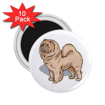 "Chow Chow 2.25"" Magnet (10 pack)"