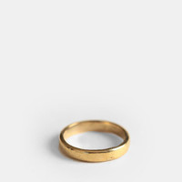 Half Finger Ring In Gold By Jen's Pirate Booty - $15.00 : ThreadSence, Women's Indie & Bohemian Clothing, Dresses, & Accessories