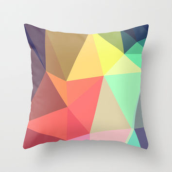 peace Throw Pillow by Contemporary