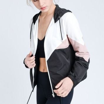 On The Go Windbreaker